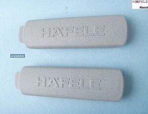 Pack of 10, Moovit - MX -  Hafele - Kitchen Drawer Cover Caps (5 pairs) grey