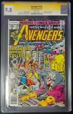 Avengers #174 Marvel CGC 9.8 SS White Pages Signed George Perez (2001)