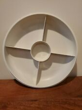 Vintage Tupperware Divided Vegetable Snack Relish Dish Tray1708-5 No Lid