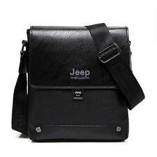 Man Business Briefcase Man's Cow Split Leather Messenger Shoulder Bag Male Totes