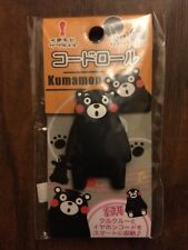 Kumamon Character Earphones Headset Winder Cord Cable Roll Organizer from JAPAN
