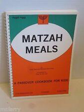 JEWISH PASSOVER PESACH HOLIDAY MATZAH MEALS COOKBOOK FOR KIDS 1985 KAR BEN