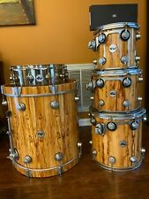 DW exotic natural laquer over african chechen
