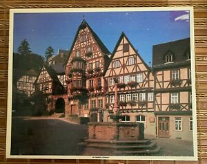 Vintage Whitman 1000 Piece Jigsaw Puzzle Miltenberg, Germany New Factory Sealed