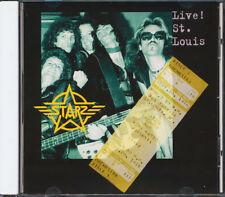 Starz - Live In St. Louis CD **BRAND NEW/STILL SEALED**