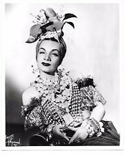 Carmen Miranda by Bruno vintage publicity photo 8x10