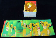 1995 Panini / Disney The Lion King Trading Card Set (90)