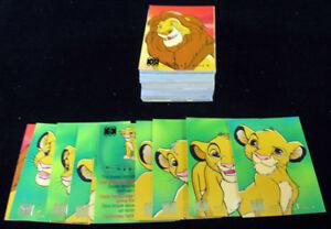 1995 Panini / Disney The Lion King Trading Card Set (90)