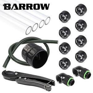 Barrow 16mm PETG Hard Tube Starter Kit  - Black