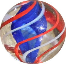 Quality Marbles - double ribbon core Swirl marble - VER001