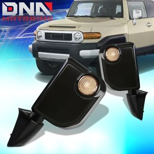 FOR 2007-2009 FJ CRUISER PAIR OE STYLE POWER+TURN SIGNAL DOOR MIRROR REPLACEMENT