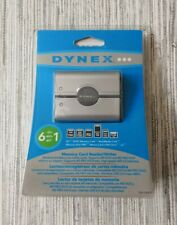 DYNEX 6 IN 1 MEMORY CARD READER WRITER DX-CR6N1 BRAND NEW SEALED !!