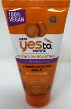 YES TO CARROTS VITAMIN-ENRICHED KALE MUD MASK 2oz EACH