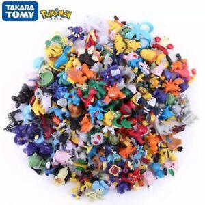 144 pcs Pokémon cartoon Action figures PVC mini toy kids gift wholesale Tomy