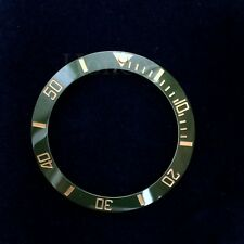 Green and Gold Ceramic Bezel Insert to fits for Rolex Submarine 16710,16760