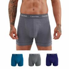 Calvin KLEIN hombre CK Calzoncillos Algodón Elástico Pantalones Cortos Troncos Ropa Interior 3x Pack De Playa