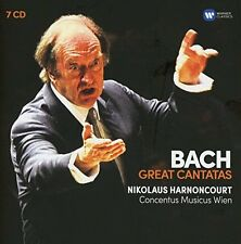 Nikolaus Harnoncourt and Gustav Leonhardt - Bach: Great Cantatas [CD]