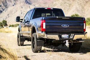 Rokblokz Step Back Mud Flaps 2017+ Ford F250/F350 Super Duty SRW Made In USA