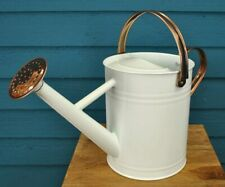 More details for factory second - ivory & copper metal watering can (3.5 litre)