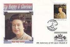(29238) Antigua and Barbuda FDC Queen Coronation 40 Years 1993