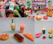 Littlest Pet Shop Lot of 10 Random Pcs Starbucks Food Sweets Accessories