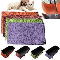 Pet Dog Rear Back Car Seat Cover Hammock Protector Cushion Waterproof Safety Mat