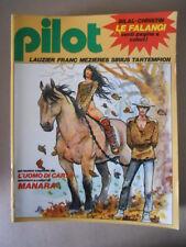 PILOT Rivista Fumetti n°2 1982 Christin Bilal - Uomo di carta Manara   [G329]