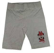 Disney Minnie Mouse Maus kurze Hose weiss 116cm / 6 Jahre NEU Schlafanzug Shorts