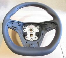 Genuine VF Commodore SV6 SS SSV LEATHER SPORTS STEERING WHEEL SILVER STITCH NEW