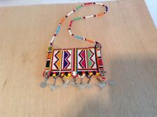 African-Arena Maasai Masai Beaded Moran Tribal Warriors Necklace Jewelry AA827