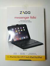 ZAGG Messenger Folio tablet keyboard case iPad Air/Air 2/9.7-inch iPad Pro/iPad