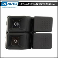 Fog Light Headlight Switch Dual Rocker 8 Terminal Dash for 87-93 Ford Mustang