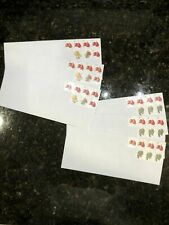 "100 Pre-Stamped #10 ""Peel & Seal"" Security Envelopes w/Total Of .55 Cents On Ea"