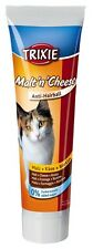 Pet Cat Additional Food Paste with Malt Cheese & Biotin Anti Hairball - TRIXIE