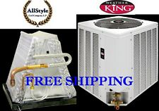 3 Ton R-410A 14SEER Mobile Home Condensing Unit / Evaporator Coil Combination