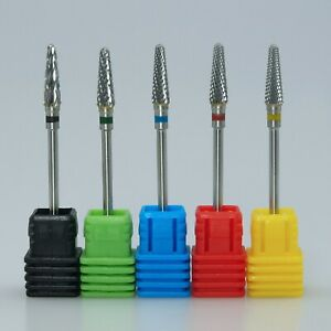 High Quality Nail Drill Bit Carbide Coarse 3/32'' Electric Care Tool Accessories