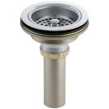 Kohler Duostrainer 4-1/2 in Sink Strainer with Tailpiece Polished Chrome 8801-CP