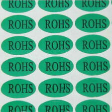 Electronic Product RoHS Sticker Adhesive LabelS 14mm x 25mm 840PCS