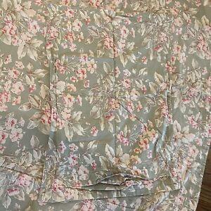 Vintage EUC Ralph Lauren Charlotte Bed Duvet Queen Sized Two Pillow Shams Floral