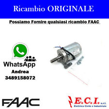 63001615 FAAC GRUPPO MOTORE S418