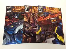 TRANSFORMERS WAR WITHIN#1-3 (DREAMWAVE PRODUCTIONS/021664) COMPLETE SET LOT OF 3