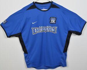 San Jose Earthquakes Men's XL Landon Donovan Nike Blue Mesh Soccer Jersey