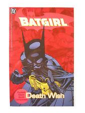 DC Comics Batgirl: Death Wish (2003)-TPB-Trade Paperback
