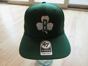 11W/BOSTON CELTICS '47 LIGATURE MVP GREEN ST. PATTYS HAT/CAP/ADJUSTABLE!