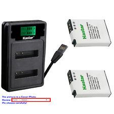 Kastar Battery LZD2 Charger for Nikon EN-EL12 ENEL12 & Nikon Coolpix B600 Camera