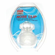 Maru Silicone Swimming Nose Clip with Case Transparent