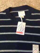 John/'s Bay V-Neck Sweater-Lightweight-Toronto Blue Heather-NWT Details about  /2XL//XXLARGE St