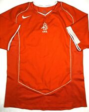 Nike NETHERLANDS 2004/06 M Home Soccer Jersey Football Shirt KNVB Holland Top