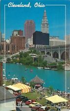 Cleveland Ohio~Street Fair~British Flag1960s
