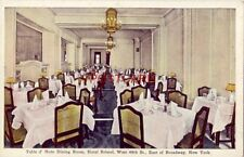 Table d'Hote Dining Room, HOTEL BRISTOL, NEW YORK CITY